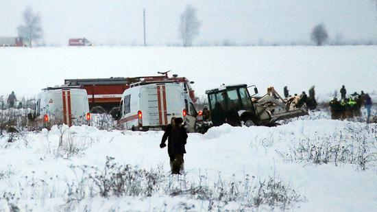 俄罗斯一架载71人客机确认已坠毁 无人生还