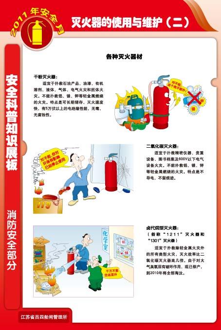 手提贮压式干粉灭火器的使用方法;4