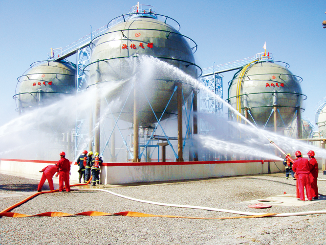 塔里木油田安全实践