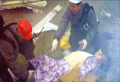 嘴唇花日本航空123号班机空难事件死难者留下的遗言