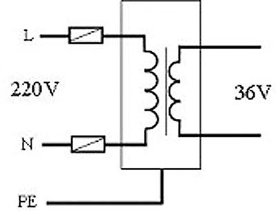 隔离变压器和安全电压