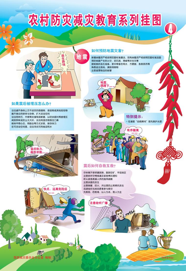 12防灾减灾日:减灾从社区做起 防灾减灾 共建平安社区