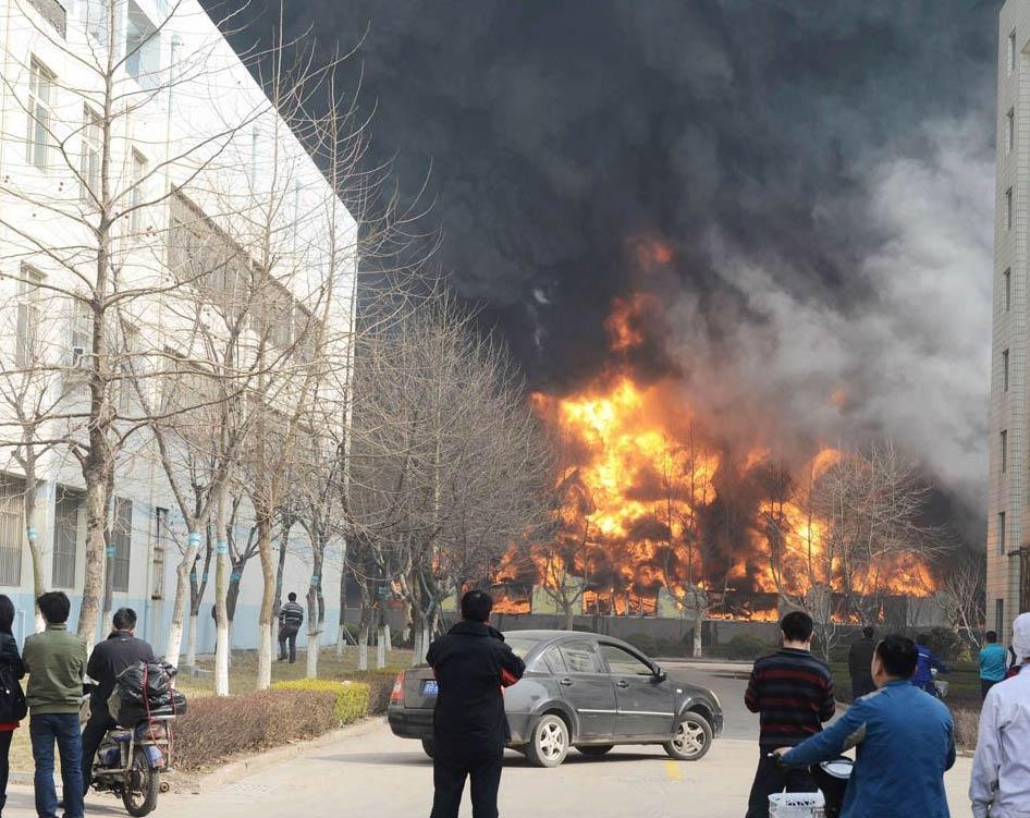 事故教训:回顾青岛保税港区尚世通物流公司一橡胶仓库起火